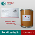 Pendimethalin cas. 40487-42-1 95% tc herbicida