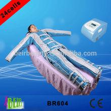 Profesyonel pressoterapi hava basıncı/detoks makine pressotherapie titreşim masajı elbise