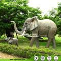 parque de animales de goma modelo elefante