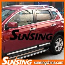 car chrome accessories cover chrome trim for car window