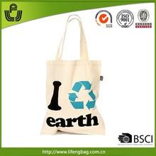 Wholesale hot sale eco colored cotton shopping bag