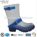 De plástico de PVC bota, las botas de lluvia de moda damas