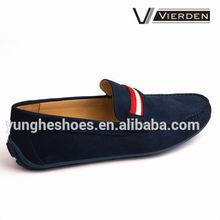 2014 2015 New modal dark blue loafers casual men shoe 0605-2