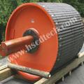 La minería utiliza la polea del transportador, correa de la polea del transportador
