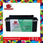 2014 Hot 12v 65ah rechargeable battery for solar street light