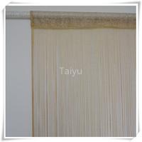 latest curtain fashion designs string curtain with lurex