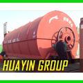 huayin marca usado pneu de carro de reciclagem de óleo de máquina de pirólise