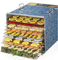 Perfect!!! 10-tray Food Dehydrator/stainless Steel Food Dehydrator Machine