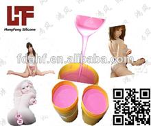 FDA liquid silicone rubber for full silicone sexy doll ROHS silicone two component