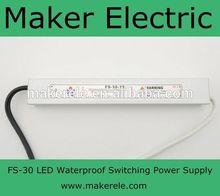 12v 25w single output high led power supply FS-25-12