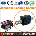 Pièces de rechange 2014 SH2900 japon générateur électrique prise mâle et femelle