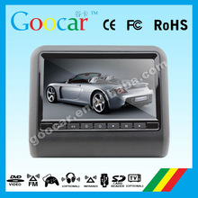 Universal 9 inch TFT LCD headrest car monitor with Support MP3, WMA, AC3, EAC3, M4A and other audio formats
