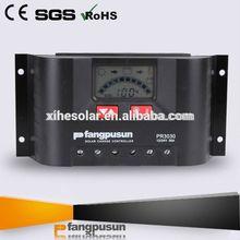 Fangpusun PR3030 30A 12V 24V solar charge controller pwm