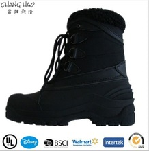 wholesale snow boots men lace up hiking shoes winter snow boots CH-2025