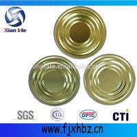 307D 83mm normal tin food lids