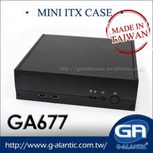 GA677 mini itx thin system computer cases
