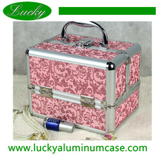 2014 modern style unique personality beautiful case cosmetic bag