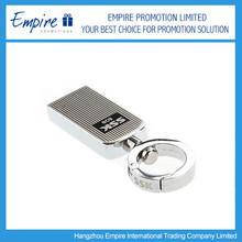 Promotional custom make your own logo metal key chain