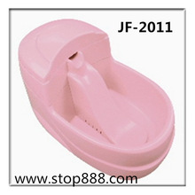 Welcome wholesaler! plastic pet water bowl,pet bowls feeders JF-2011
