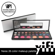 wholesale shimmer eyeshadow palette combination with blush