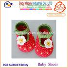 MOQ 60 latest dress design hand made crochet baby shoes manufactory