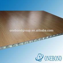 PVDF and PE coating aluminium honeycomb panel