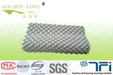 Egg shaped Latex massage pillow 60*40*10/12cm