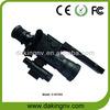 Illuminated riflescope night vision