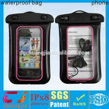 2014 outdoor inflatable pvc phone waterproof case