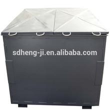 stackable storage bin/metal storage bin