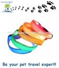 Lovoyager safety LED pet collar colorful flashing dog collar
