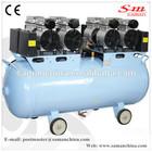 oil free silent mobile piston type air compressor