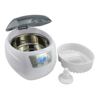 Free Shipping! 50W 40KHz ultrasonic denture cleaning denture cleaner