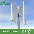 10kw vertical de la turbina de viento generador de imán permanente