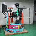 Simulador de carreras, 3 dof del juego, 6 dof movimiento de la plataforma