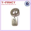 wholesale metal cheap dog tags custom engraved jewelry tags custom metal jewelry tags