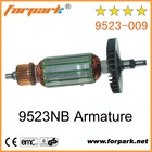 Power Tools spare parts 9523NB armature for angle grinder
