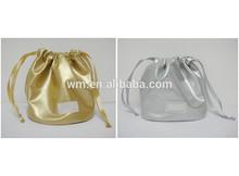 Promotional satin drawstring gift bag