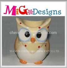 Best Cute Owl Design Ceramic China Egg Holder