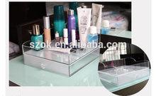 2014 high quality acrylic makeup lipstick organizer