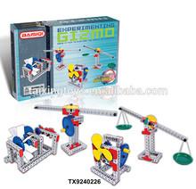 Kids Educational Toys New DIY Plastic Science Buliding Blocks Sets