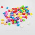 Cor de pedra, pequenas pedras de calçada, coloridos de pedra do jardim