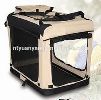 foldable soft dog kennel pet cage pet carrier