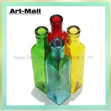 Wholesale fashion designs hand blown antique glass vases
