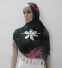 Women's Floral Pattern Printed Long Viscose Soft Shawl Scarf Hijab Muslim Very Trendy
