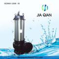 5.5kw qe série alto fluxo submersível bomba de fluxo axial
