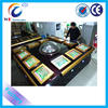 2014 international standard coin operated video roulette machine wheel game set