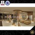Moda de marca de la tienda de ropa tienda de exhibición de prendas de vestir