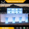 Portátil de plástico barra de bar/de luz led de barras portátil