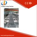 Negro color de vidrio arquitectónico pvd/vacío/mikimoto recubrimiento/placas de la máquina/fabricante de equipos